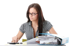 Steuerformulare ergänzen Lizenzfreies Stockfoto