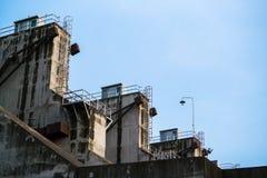 Steuergerät Verdammungen und Schleusentoren Stockfotografie