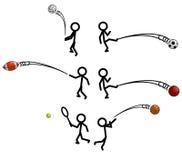 Steuerknüppel-Abbildung Sport Stockbild