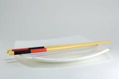 Steuerknüppel für Sushi Lizenzfreie Stockfotos