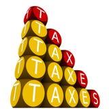 Steuern stock abbildung