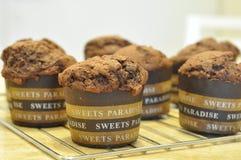 Steuern Sie gemachtes Muffin automatisch an Lizenzfreie Stockfotos