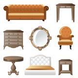Steuern Sie Möbel automatisch an Stockbilder