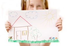 Steuern Sie süßes Haus automatisch an Lizenzfreie Stockfotografie
