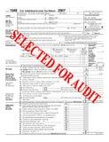 Steuerprüfung Lizenzfreie Stockbilder