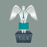 Steuerschuld Stockfotografie