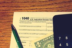Steuertag 17 Lizenzfreie Stockfotos