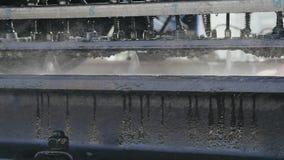 Steuerung der technischen Zustandes des Bahnsystems stock footage