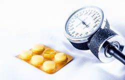 Steuerung des Blutdruckes und Lebensqualität Stockfotos