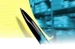 Steuerung einer Speicherung Lizenzfreie Stockfotos