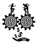 Steuerzahler Stockfotos