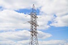 Steun met hoog voltage Stock Afbeelding