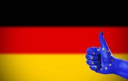 Steun voor Duitsland Stock Fotografie