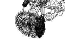 Steunbalk vector illustratie