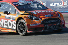 Steve Arpin 00, commandes une voiture de St de Ford Fista, pendant Red Bull Photos libres de droits