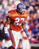 Steve Atwater. Denver Broncos DB Steve Atwater, #27.  (Image taken from color slide Stock Photography