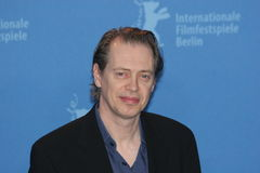 Steve Buscemi. BERLIN - FEBRUARY 14: Actor Steve Buscemi attends the photo call to promote the movie 'Interview' during the 57th Berlin International Film Royalty Free Stock Images