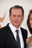 Steve Buscemi. & wife arriving at the 2011 Primetime Emmy Awards at the Nokia Theatre, L.A. Live in downtown Los Angeles. September 18, 2011  Los Angeles, CA Stock Photo