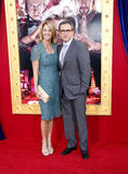 Steve Carell and Nancy Carell Stock Photo