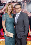 Steve Carell och Nancy Carell Royaltyfri Bild