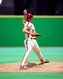Steve Carlton Philadelphia Phillies royaltyfri bild