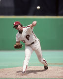 Steve Carlton. Philadelphia Phillies legend Steve Carlton.  Image taken from color slide Stock Images