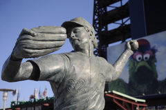 Steve Carlton statute Royalty Free Stock Photography