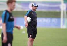 Steve Clarke Manager of  Reading FC Royalty Free Stock Photos