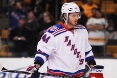 Steve Eminger, New York Rangers Fotos de Stock