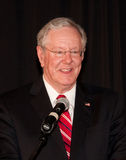 Steve Forbes. 2014 speaking to a political group on the financial condition of the USA Royalty Free Stock Image