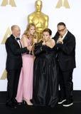 Steve Golin, Blye Pagon Faust, Nicole Rocklin και ζάχαρη του Michael Στοκ Φωτογραφία