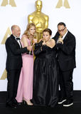 Steve Golin, Blye Pagon Faust, Nicole Rocklin i Michael cukier, Fotografia Stock