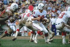 Steve Grogan. New England Patriots QB Steve Grogan.  Image taken from color slide Stock Image