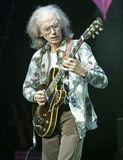 Steve Howe 2. Steve Howe from Yes on stage in Bamberg Germany Royalty Free Stock Photos