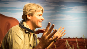 Steve Irwin Stock Photo