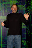 Steve Jobs, empresario americano e inventor waxwork Imagen de archivo