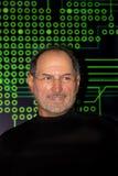 Steve Jobs, entrepreneur américain et inventeur waxwork Image libre de droits