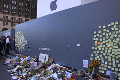 Steve Jobs memorial Stock Images