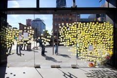 Steve Jobs Memorial NYC Royalty Free Stock Photos