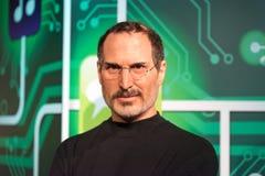 Steve Jobs-wascijfer bij Mevrouw Tussauds-wasmuseum in Istanboel stock foto