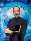 Steve Jobs. Wax statues at the museum royalty free stock photo