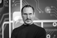 Steve Jobs wosku postać przy Madame Tussauds muzeum w Istanbuł zdjęcia stock
