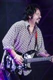 Steve Lukather da Toto in tensione Immagine Stock