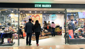 Steve Madden-Shop in Hong Kong stockfotografie