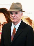 Steve Martin. Actor/comedian Steve Martin drags himself through the red carpet at the Ziegfeld Theatre in New York City for the premiere of \Baby Mama,\ a comedy Royalty Free Stock Images