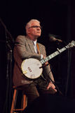 Steve Martin, comedian and talented banjo player, performs with Steep Canyon Rangers in North Carolina Royalty Free Stock Images