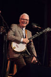 Steve Martin performs at the Mountain song Festival in Brevard, NC Royalty Free Stock Photo