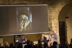Steve Mccurry et Roberto Cotroneo, otranto Images libres de droits
