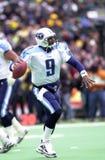 Steve McNair. Tennessee Titans QB Steve McNair. Image taken from color slide Stock Images