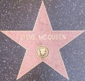 Steve Mcqueen gwiazda Zdjęcie Stock